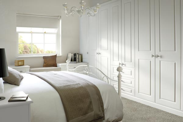 Bedrooms - Georgian Smooth White