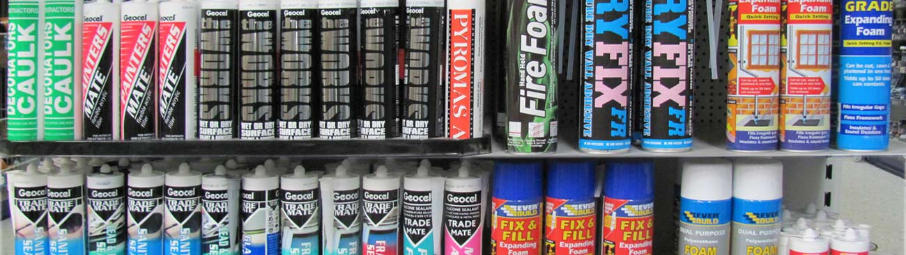 Sealants & Adhesives Banner