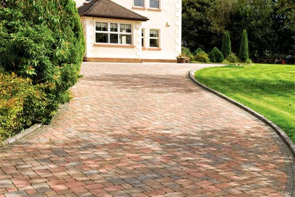 Landscaping - Country Cobble Block Paving