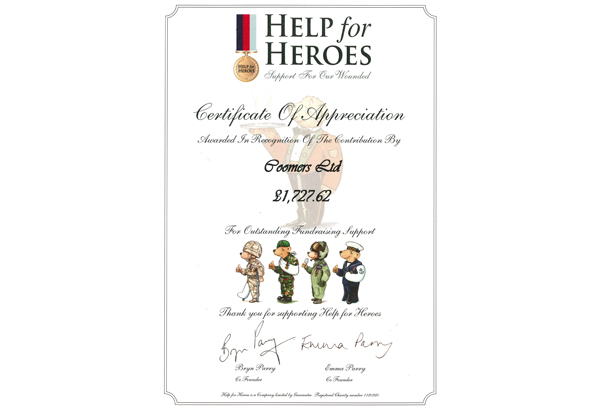 Help for Heroes 2011