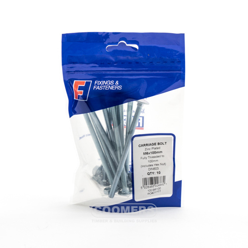 Forgefix 10TOG650 Plasterboard Spring Toggle M6 x 50 Bag of 10
