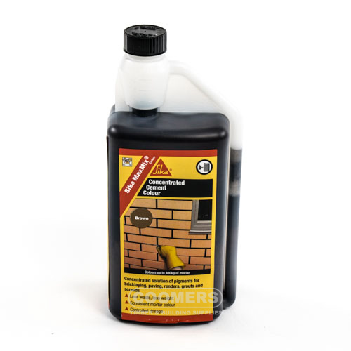 Sika Maxmix Cement Colour Brown 1Ltr